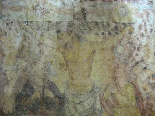 Cripta del Crocifisso. Crocifissione