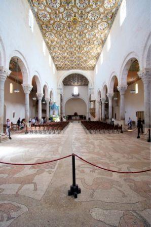 Il pavimento della cattedrale di Otranto