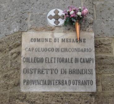 Storia di Mesagne [frammenti] – 1596 circa, di Cataldantonio Mannarino