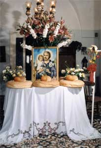 Mesagne e la festa di San Giuseppe