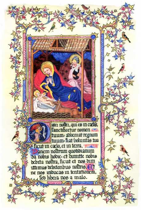 Yseult de Lacy, in  Petit Heures of the Duke of Berry, c.1380.