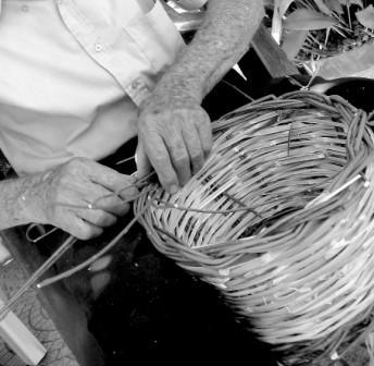 Il canestraio: un artigiano contadino