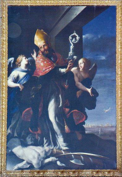 FIG.1. Lecce. Cattedrale. S.Oronzo (G. A. Coppola)