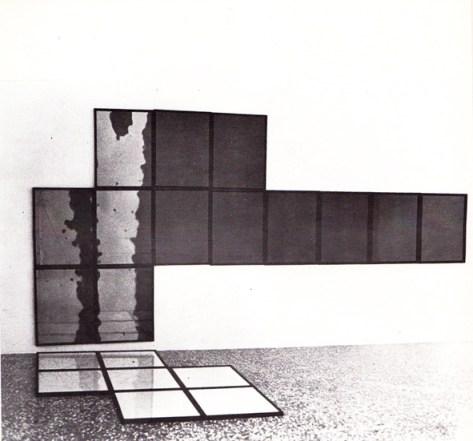 Dilatazione riflessa, installazione (1980)