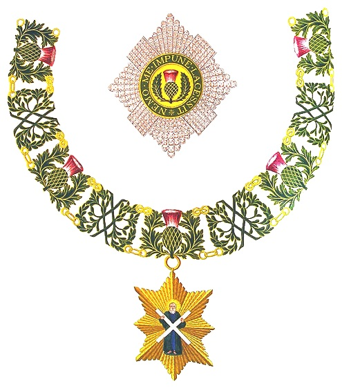 immagine tratta da http://it.wikipedia.org/wiki/File:Insignia_of_Knight_of_the_Thistle.png
