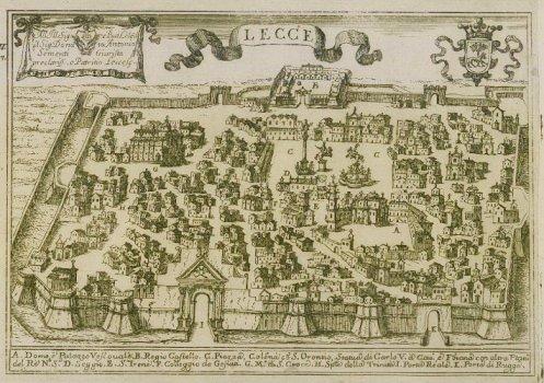 La veduta di Il Regno di Napoli in prospettiva è tratta da http://www.vecchiaprovinciadilecce.it/