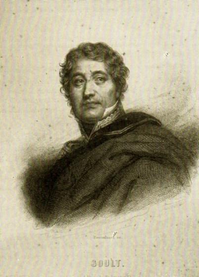 Il famoso generale napoleonico N. Soult (1769-1851)