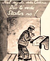 manifesto di propaganda elettorale tratto dal sito www.cronologia.leonardo.it