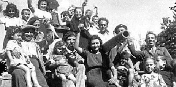 28 aprile 1945. Festa della Liberazione a Cassano delle Murge