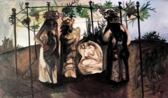 Pergolato - 1955 (coll. priv.)