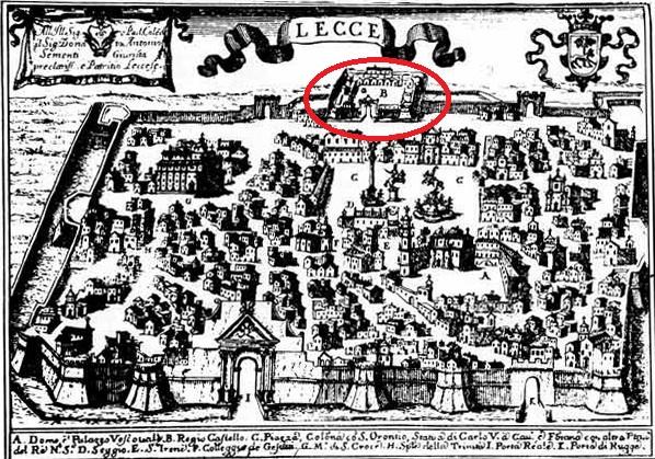 I castelli di Terra d'Otranto tra il 1584 e il 1610 in una relazione manoscritta del 1611: LECCE (4/6)