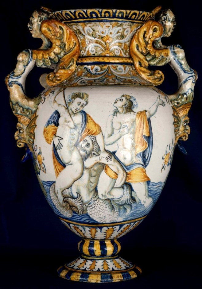 3-CASTELLI GRANDE ANFORA 1580-'90