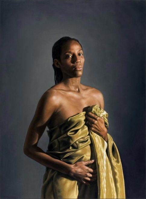 Eva (Fiona May) - 2009 - 110 x 80cm, Olio su tela