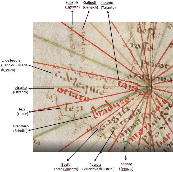 La Terra d'Otranto ombelico del mondo nel 1339