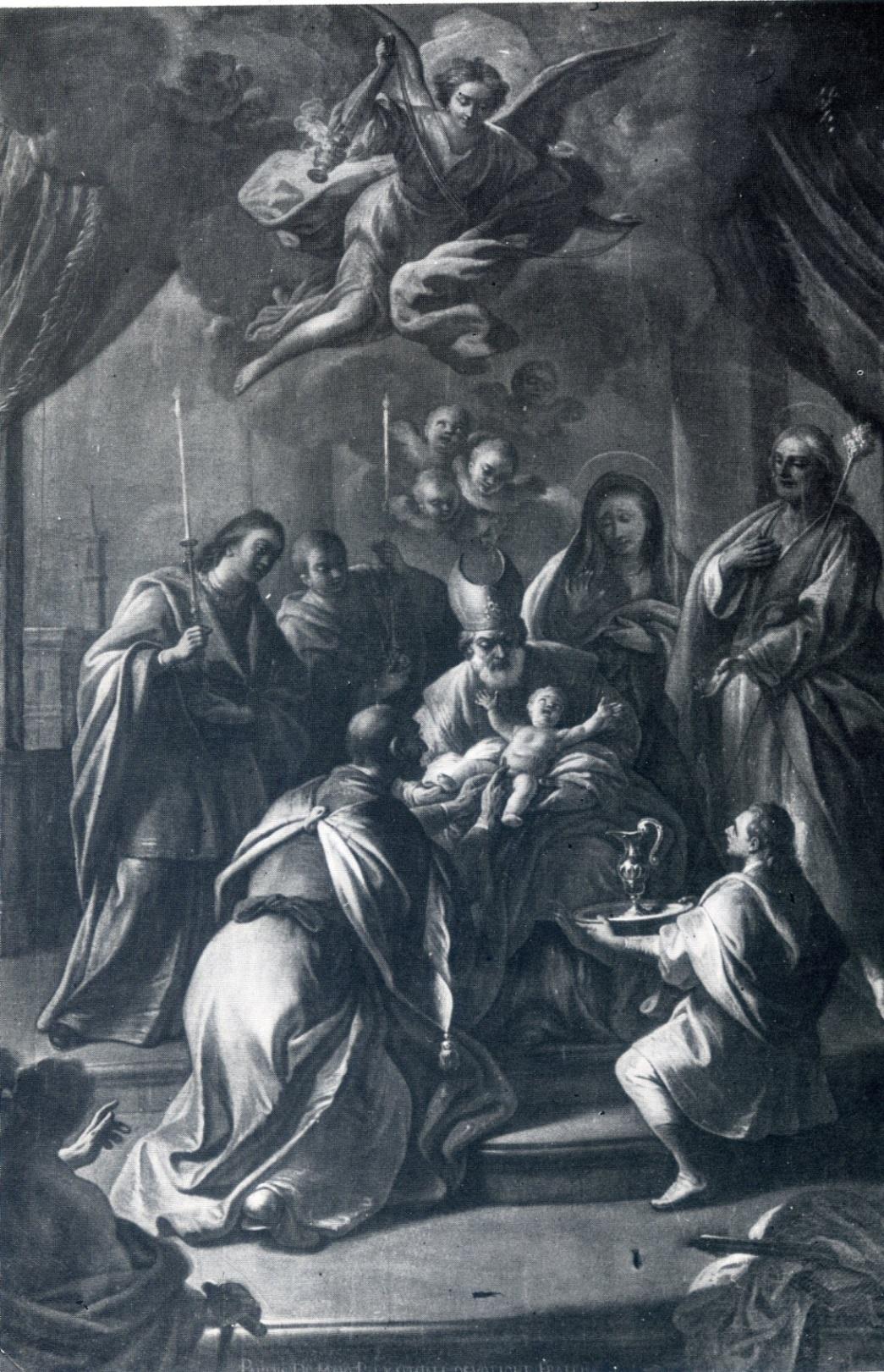 Un dipinto di Paolo De Maio a Latiano
