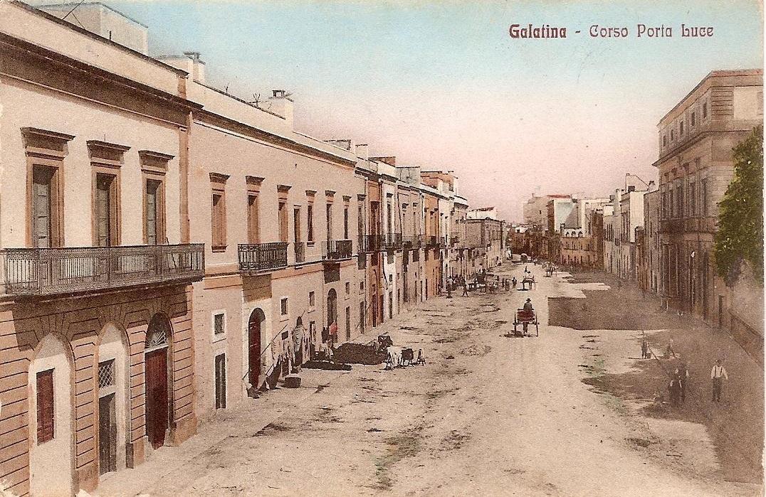 Galatina ieri e oggi: benedetta cartolina!