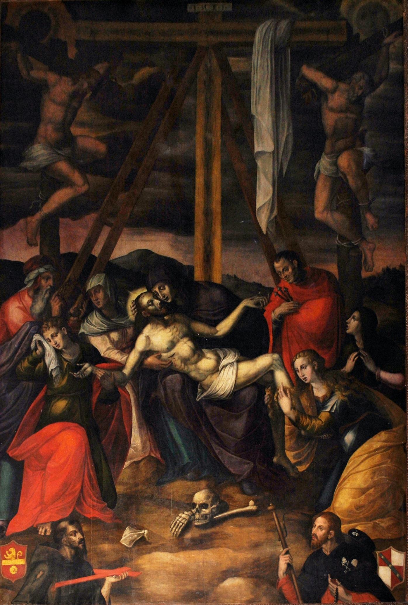 Gian Domenico Catalano nella collegiata di Grottaglie