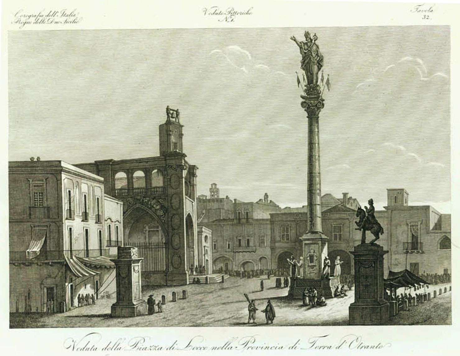 George Berkeley e Lecce