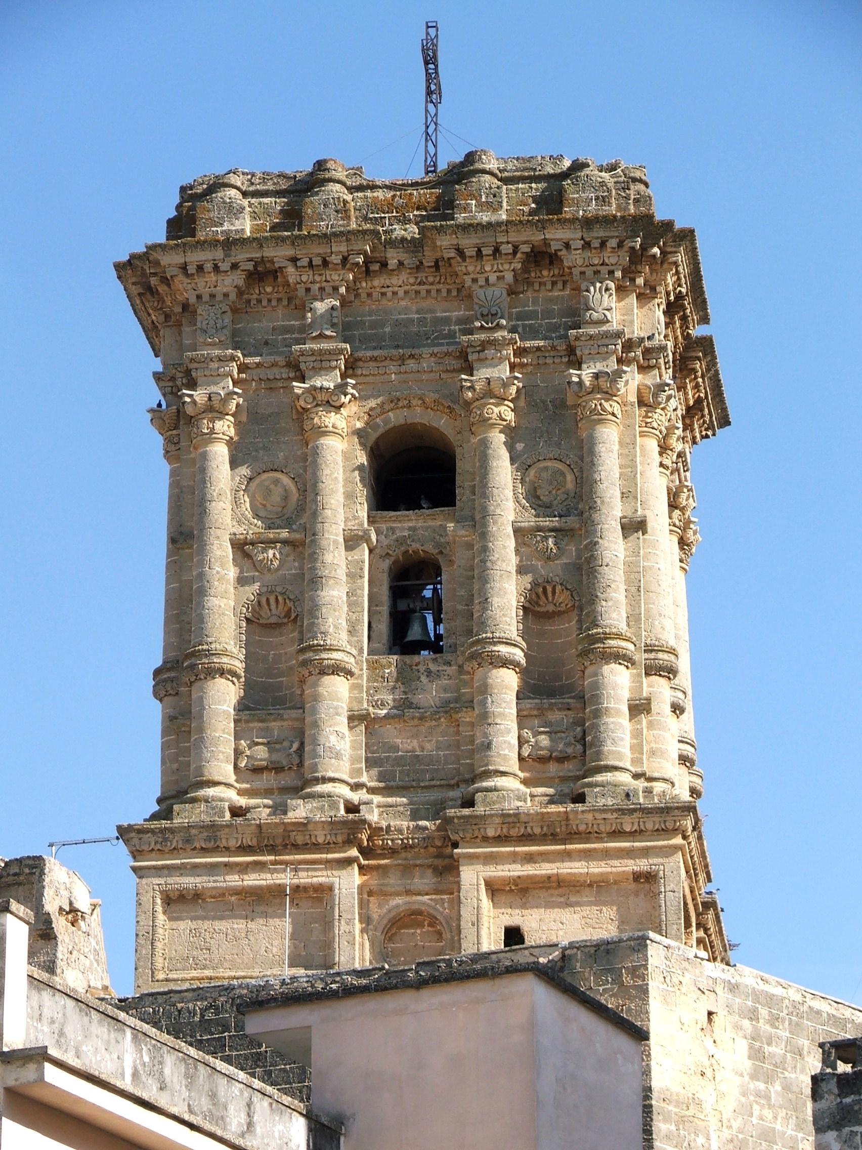 Il campanile della chiesa matrice di Copertino