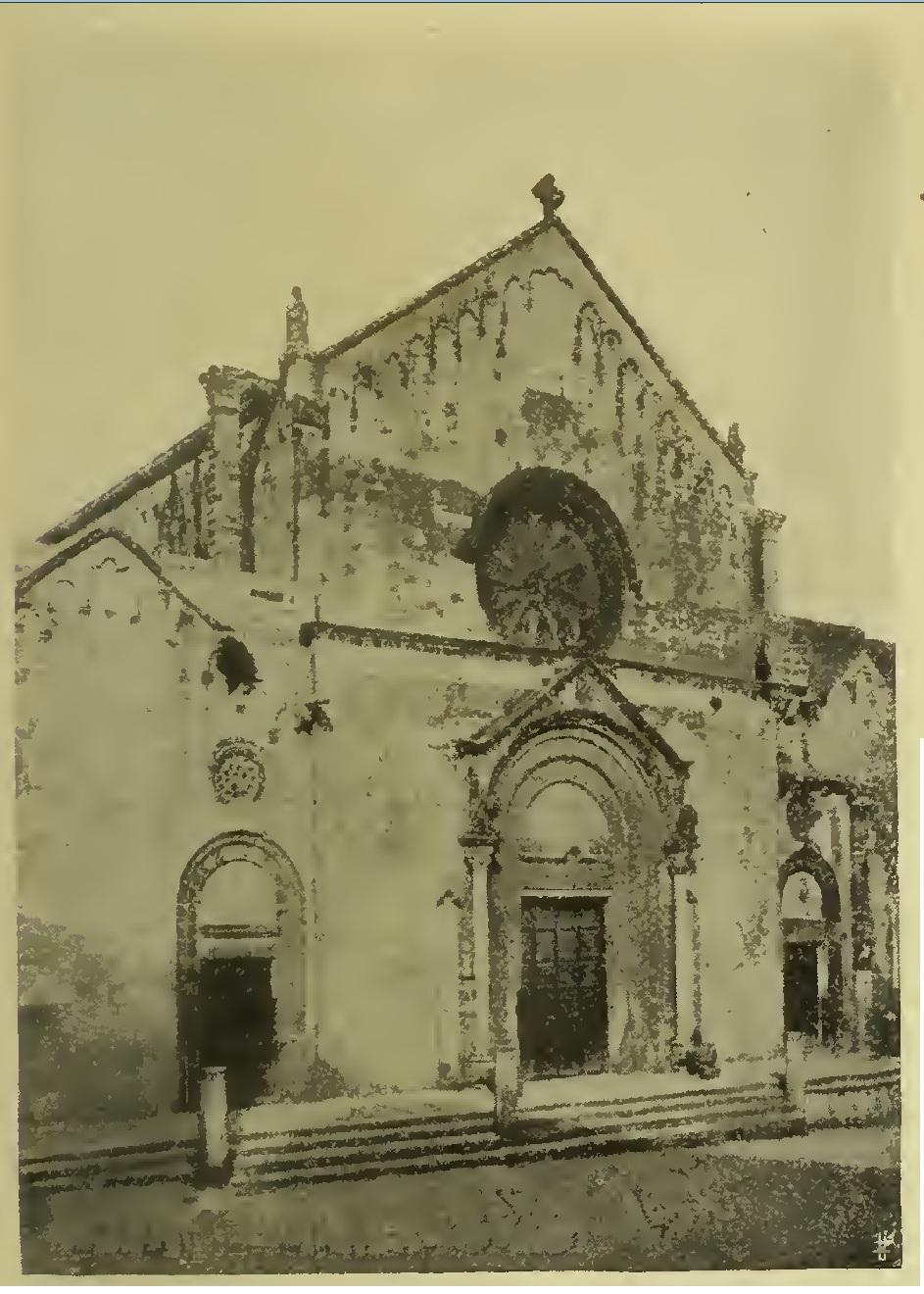 Il quadriportico di S. Caterina d'Alessandria a Galatina