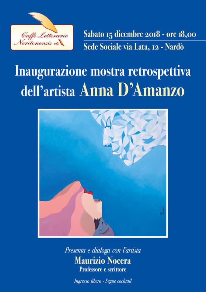 Anna D'Amanzo espone al Caffè Letterario