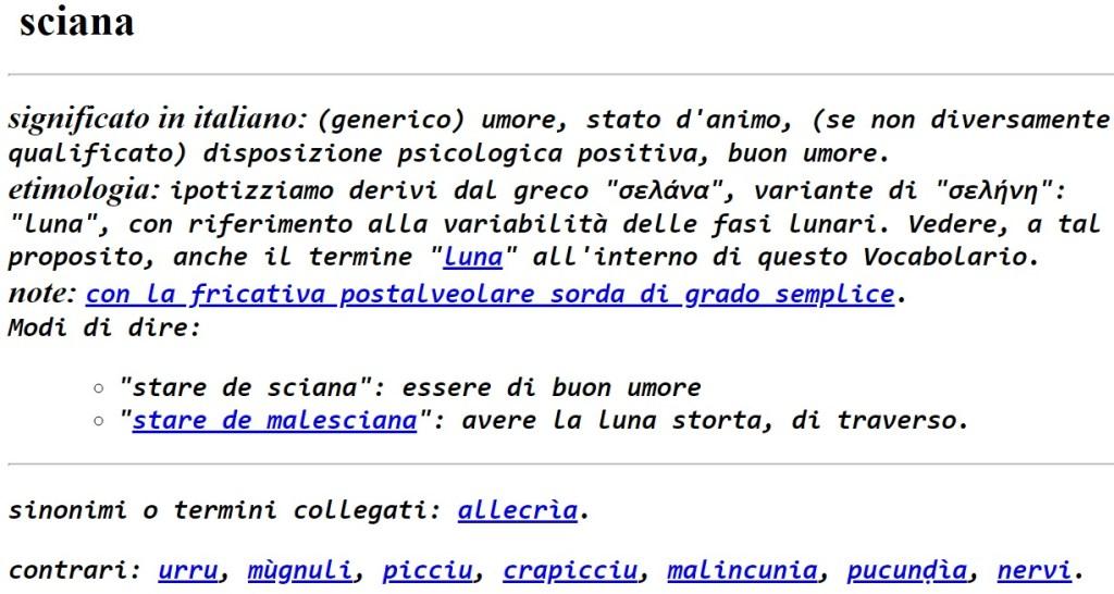 Super Dialetti salentini: sciana - Fondazione Terra D'Otranto FP63