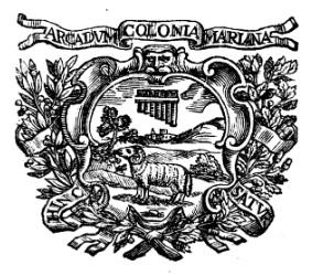 Gli Arcadi di Terra d'Otranto (6/x):  Oronzo Guglielmo Arnò di Manduria,  Giovanni Battista Gagliardo, Antonio Galeota e Francesco Carducci di Taranto
