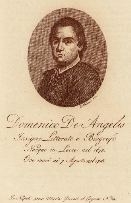 Gli Arcadi di Terra d'Otranto (13/x): Domenico De Angelis di Lecce (1675-1718)
