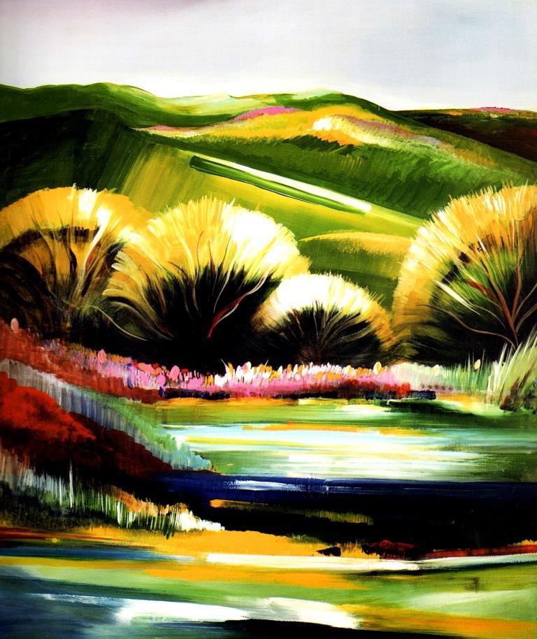 Viaggio nei colori dell'artista neritino Luciano Falangone