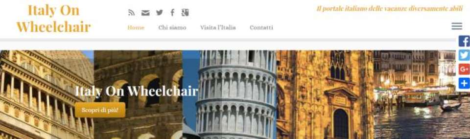 Italy On Wheelchair