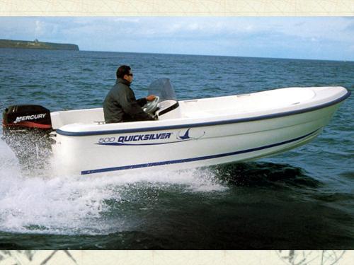 Quicksilver. Quicksilver 500 Fish barco de Pesca paseo de ...