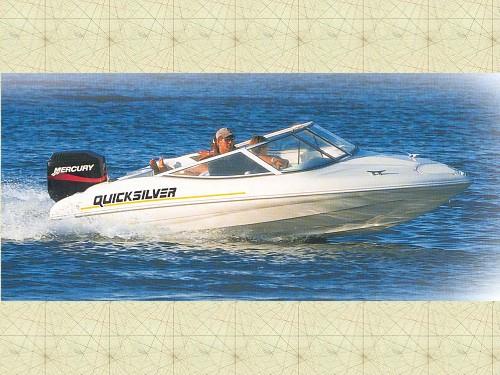 Quicksilver. QS 470 Sport barco de Lanchas de 4,61 metros