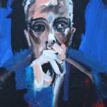 Interrogation, Serge Labégorre 2020, 10P 55x38 cm at#05