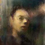 Portrait, Jérôme Delépine 2017, 15 F 65x54 cm #01