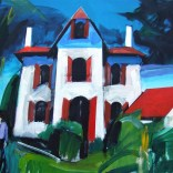 Retour à la villa, Serge Labégorre 2020, 40 F 81x100 cm at#07