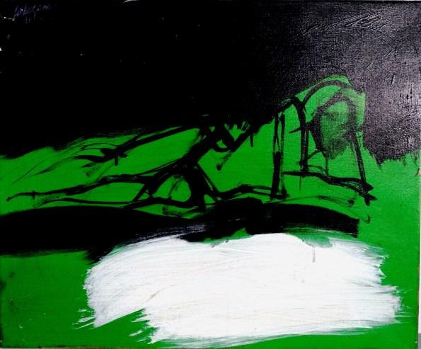 A la côte sauvage, Labégorre 2011_54x65 cm 15F acrylique sur toile