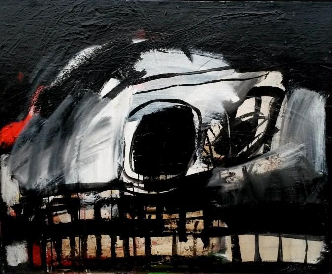 Crane, Labegorre2006_81x100 cm 40Facrylique sur toile