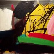 Creysse, Serge Labégorre 1992_ 35x49 cm acrylique sur toile