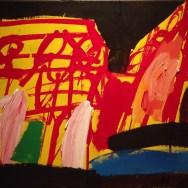 Sans titre, Labégorre 1994_35x50 cm ass10M acrylique sur toile