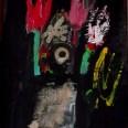 Bouquet libre, dit Haut les mains, Serge Labegorre 1980 56x46 cm 10F ab#01