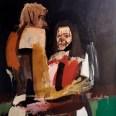 Couple, Serge Labégorre 2005, 146 x 114 cm 80F at#03