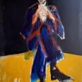 Etude pour un portrait de Drieula Rochelle, Serge Labégorre 2018, 140 x 100 cm at #02