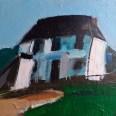 La ferme originelle en Barétous, Serge Labégorre 2014, 51 x 64 cm 15P at #03