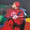 Le pape rouge, Serge Labégorre 2002, 195x130 cm 120F at#01