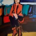 Madame Baron 2, Serge Labégorre 2019, 140 x 100 cm 70 at#03