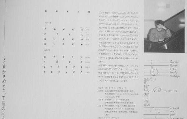 Hiroshi Yoshimura - Green Inside
