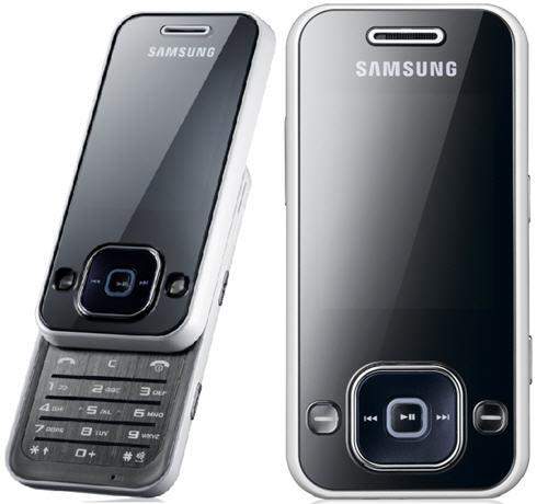The Samsung F250 Music Slider