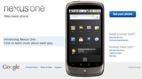 nexus one - Google deve apresentar seu celular nesta terça-feira