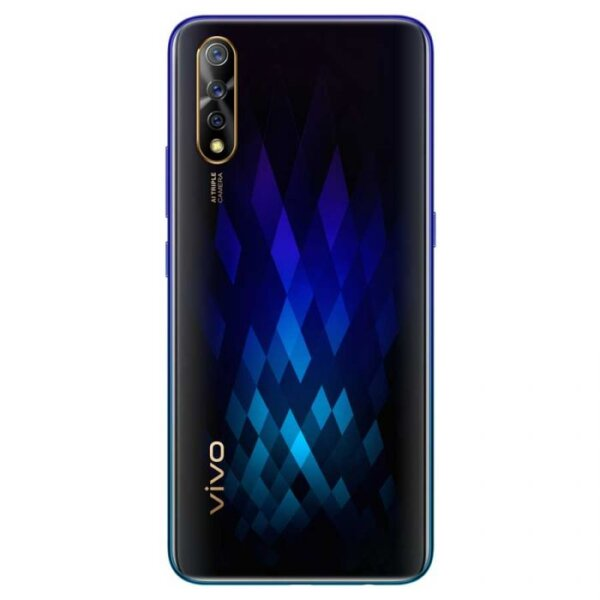 SCREEN 6.38-inch FHD+ Super AMOLED Display (1080 x 2340 Pixels, 404 ppi) with 19.5:9 Aspect Ratio OS Android 9.0 Pie with Funtouch OS 9 CHIPSET MediaTek MT6768 (Helio P65) CPU Octa Core CPU (2.0GHz Dual Core Cortex-A75 + 1.7GHz Hexa Core Cortex-A55) GPU Mali-G52 MC2 RAM 6 GB REAR CAMERA Triple Cameras: -16 MP Main Camera (f/1.78 Aperture, PDAF) -8 MP Ultra-wide (f/2.2 Aperture) -2 MP Depth Sensor Features: -LED Flash FRONT CAMERA 32 Megapixels (f/2.0 Aperture) STORAGE 128GB EXPANSION Expandable up to 256GB via microSD SIM CARD Dual SIM (Nano-SIM) NETWORKS 4G LTE, 3G HSPA+, 2G EDGE & GPRS Networks WI-FI Wi-Fi 802.11 b/g/n/ac (Dual Band) NFC No BLUETOOTH Bluetooth 5.0 POSITIONING A-GPS, GLONASS, Galileo & BeiDou USB OTG Yes USB PORT MicroUSB 2.0 SOUND 3.5mm Audio Jack FM RADIO Yes BIOMETRICS Face Recognition & Fingerprint Sensor (Under Display) SENSORS Gyroscope, Compass, Ambient Light Sensor, Proximity Sensor and Accelerometer BATTERY 4500 mAh Li-Po Battery (Non-removable) with 18W Fast Charging MATERIAL Glossy Plastic - Scratch Resistant Glass DIMENSIONS 159.5 x 75.2 x 8.1 mm WEIGHT 179 g COLORS Diamond Black and Skyline Blue