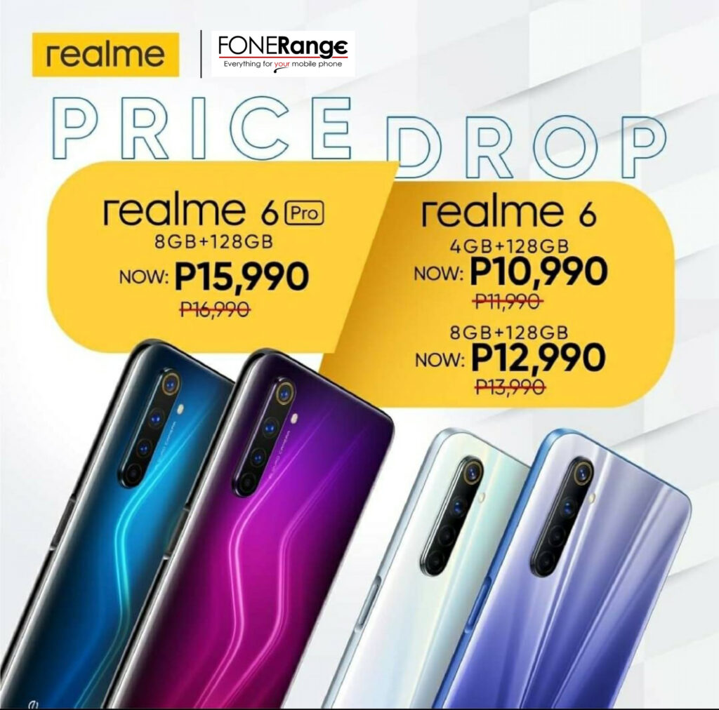 Realme 6 and Realme 6 Pro, NOW MORE AFFORDABLE